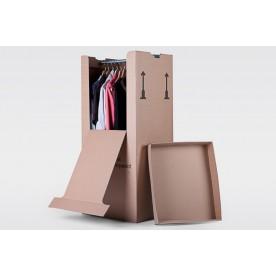 Kleiderbox 3-wellig
