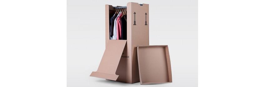Kleider-Kartons